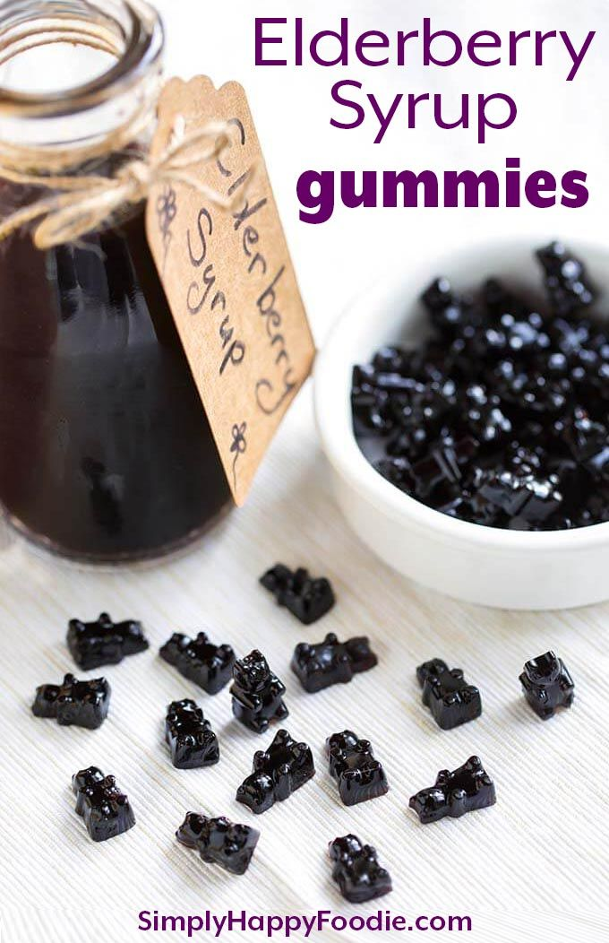 These fun Elderberry Syrup Gummies are a tasty and sweet way to get a dose of El…