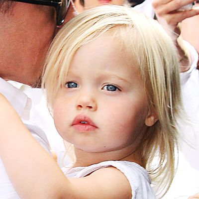 Shiloh Jolie-Pitt's Changing Looks - 2008  Two-year-old Shiloh's fine blonde hair fell naturally straight around her face and parted to the side.  - from InStyle.com