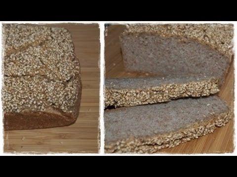 Chleb bezglutenowy - bez mąki, bez drożdży i bez zakwasu!!!