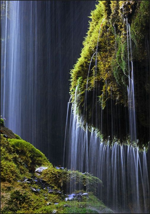 36 Incredible Places That Nature Has Created For Your Eyes Only - Schleierfall waterfall ,Wilder Kaiser, Austria
