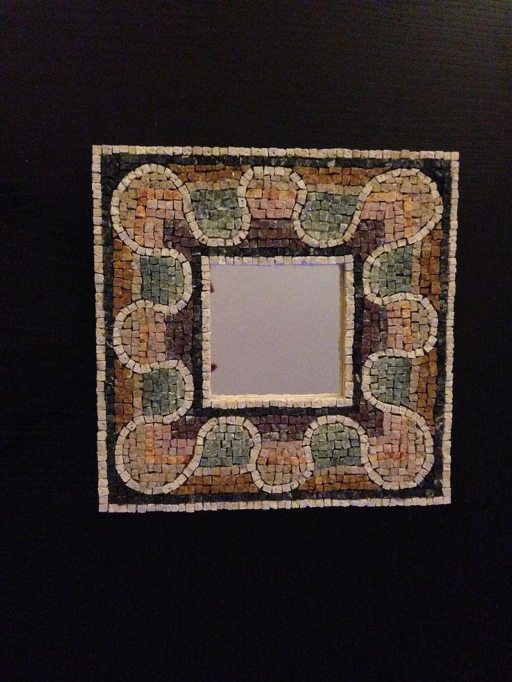 antique mosaic frame