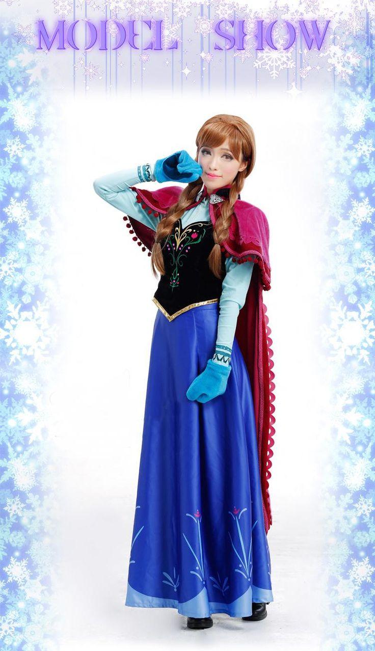 Best 20+ Adult anna costume ideas on Pinterest   Frozen halloween ...