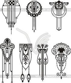 Art Deco Design Elements best 25+ art deco tattoo ideas on pinterest | glyphs, art deco