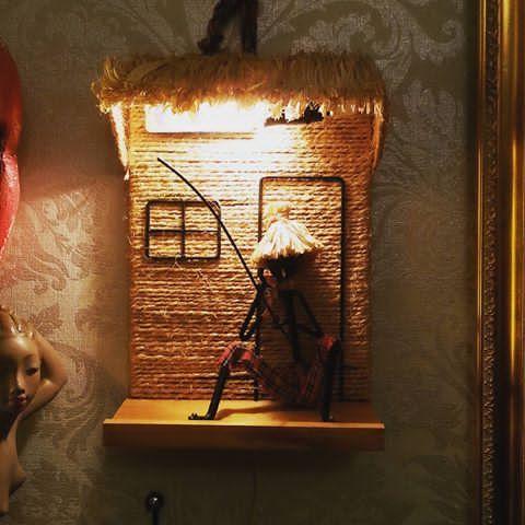 Knallstrøken Bror Bonfils lampe😆😆😆😍😍😍 #brorbonfils #midcentury #retro #vintage #506070tallet #506070tal #retrohjem #retrointerior #interiør #art #kunst #50s60s #design #vintagedesign #cooldesign #50s60s #madeindenmark #retrolampe#danishdesign