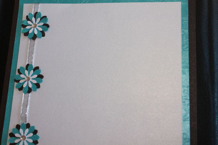 Wedding Invitation - teal and charcoal