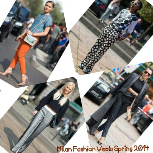 MILAN FASHION WEEK: Spring 2014 | @VolteDesign | #MFW #StreetStyle #Luxury |