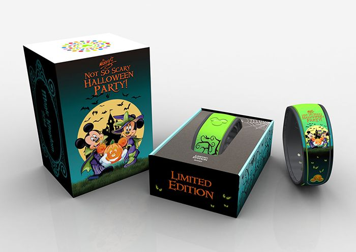 Mickey's #NotSoScary Halloween Party at Magic Kingdom Park will debut a new limited-edition MagicBand!