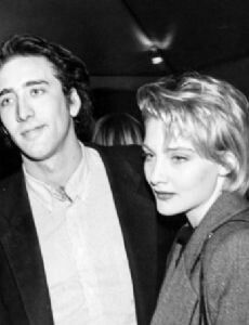Jenny Wright and Nicholas Cage