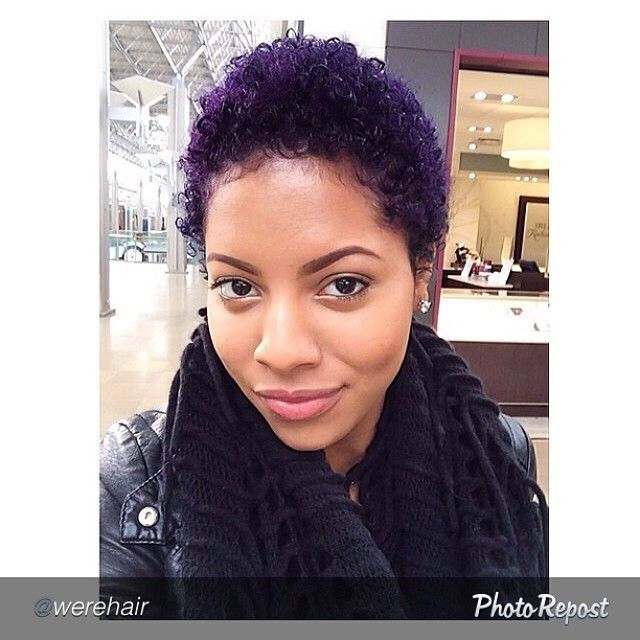Natural Hair Color Ideas: 1000+ Ideas About Colored Twa On Pinterest