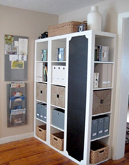 12 clever storage solutions - this would be great for crafts, hair supplies, sewing notions, etc.