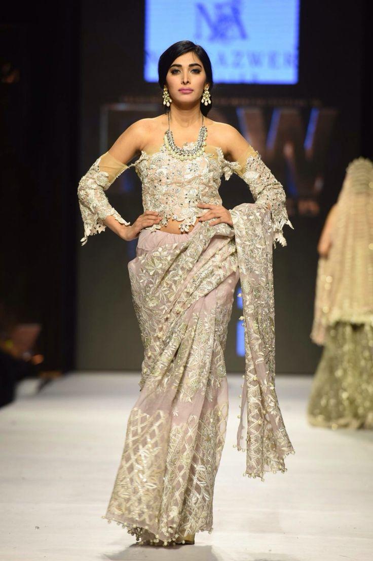 New fashion dress pakistani 2018 bridal show