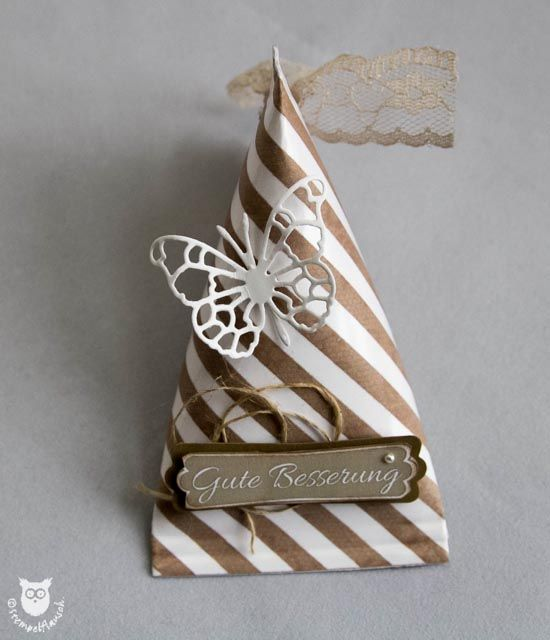 Stampin`Up! Sour Cream Box