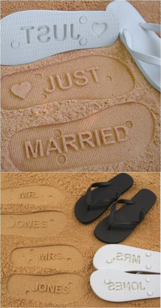 These personalized flip flops make the absolute best shower present! They're so cute and original! | Made on Hatch.co by independent makers