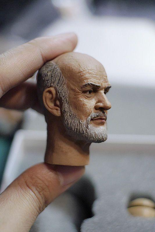 1 6 Headplay HP 0065 UK Actor Sean Connery Beard Head Sculpt Carving Model TOY | eBay