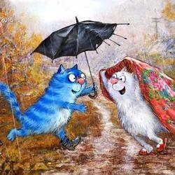 """Почтовый роман. """"Ты, я и зонтик"""""""