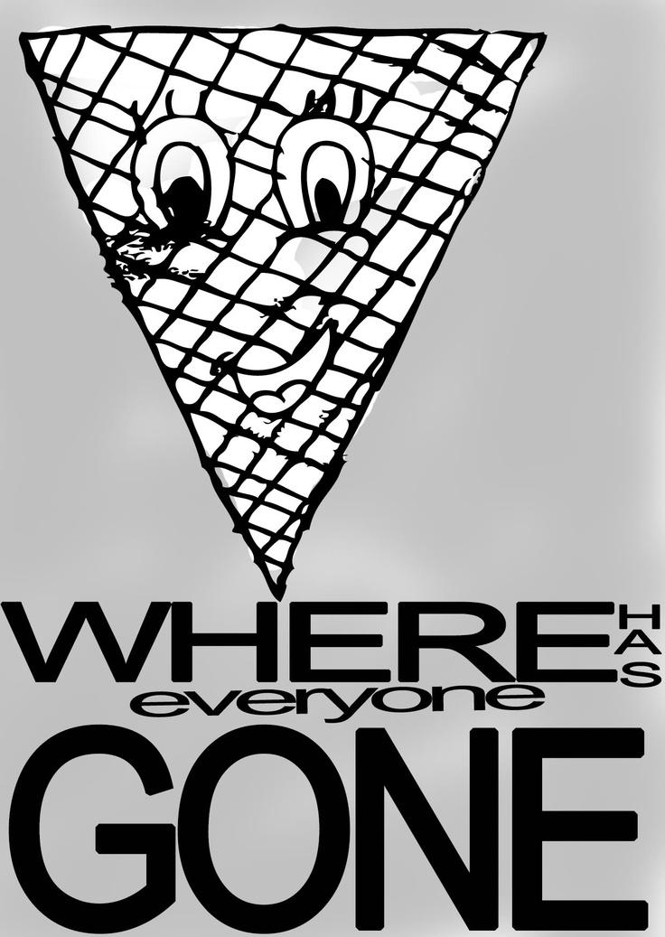 A lonely ice cream cone