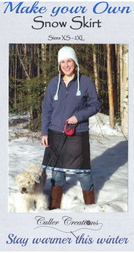 Take a look at our snow skirt patterns at cullercreations.com