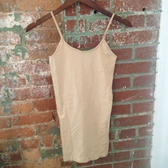 NWOT nude cami top New without tags beige camisole, great for layering etc. *downsizing, everything must go! open to reasonable offers. no trades or paypal. Always happy to quote a bundle. I can usually ship next day! Charley Paige Tops Tank Tops