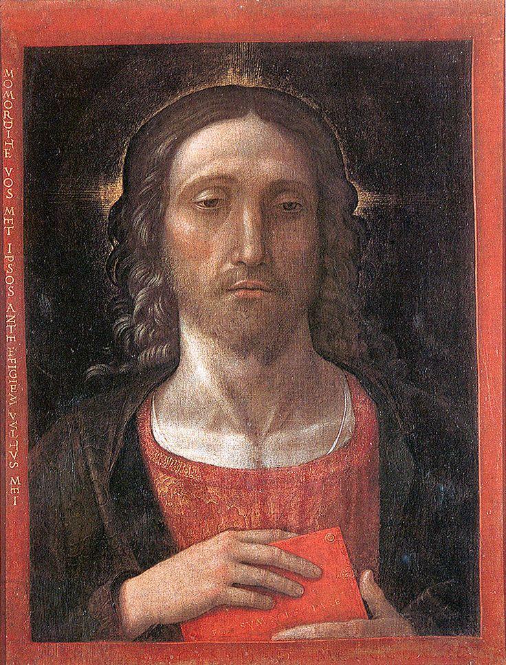 69. 1493 - Cristo Redentore - Correggio, Pinacoteca civica