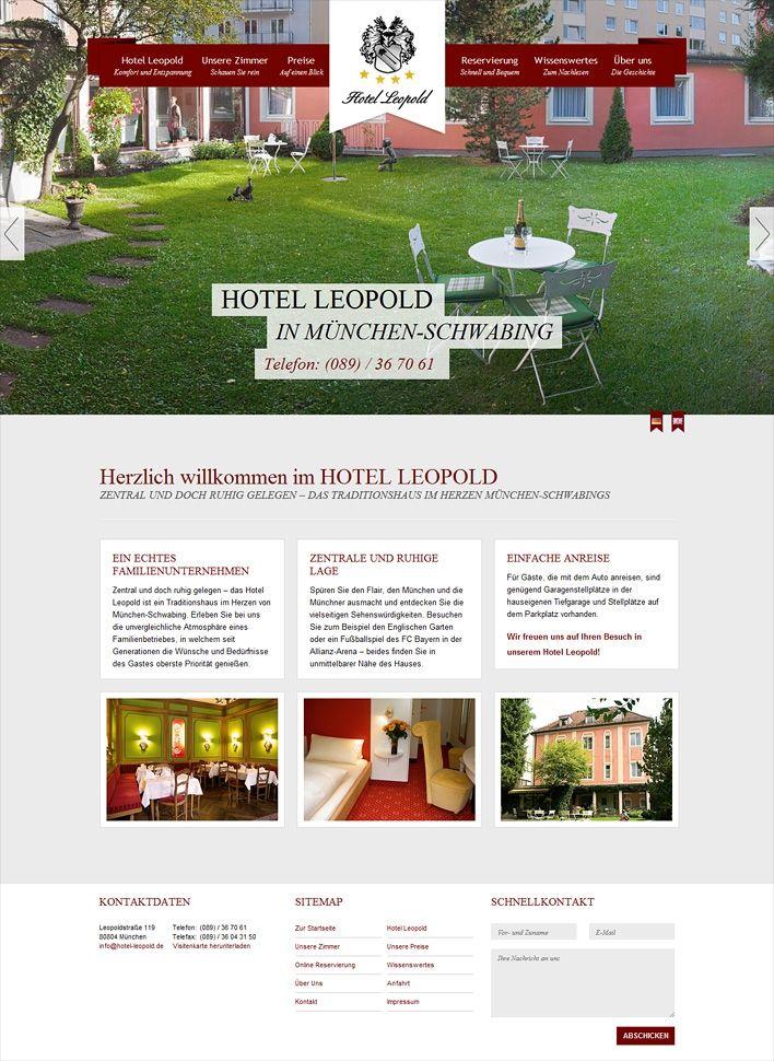 77 besten portfolio inspiration webdesign bilder auf for Design hotel schwabing