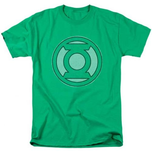 Футболка Зелёный Фонарь - логотип Зелёного Фонаря Trevco