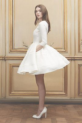 Delphine Manivet - Créatrice de robes de mariée Paris : Mariée