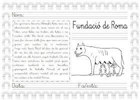 Mi grimorio escolar: RÓMULO Y REMO: LA FUNDACIÓN DE ROMA