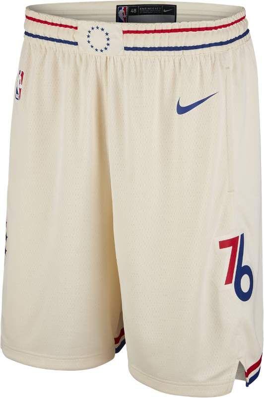 281552b5607 City Edition Swingman (Philadelphia 76ers) Men s Nike NBA Shorts ...