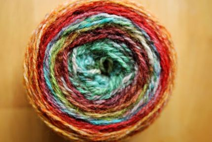 A ball of gorgeous, unique hand-dyed yarn would be a fabulous gift for the knitter in your life!