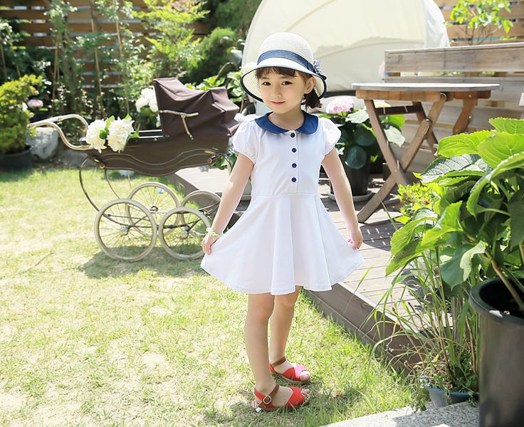 Korea childrens No.1 Shopping Mall. EASY & LOVELY STYLE [COOKIE HOUSE]  #koreakidsfashion #kidsfashion #kidslooks #kidsclothes #goodquality #goodfabric #cute #pretty #kidOOTD #OOTD #COOKIEHOUSE   #skirt #dress #ops #onepiece #colorful #kidops  This fresh keolreogam dominate me ~ ^ ^.  Neat neat fit perfect atmosphere falling.  That directs the daily item!  (Pink, White / 7 ~ 17 to No.)    Plastic herd Erie One Piece / Size : S, M, L / Price : 13.86 USD