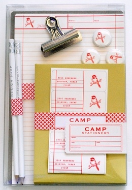 custom stationery can be the best investment - remember not many of your competitors send direct mail anymore - you can own getting to your client's desk