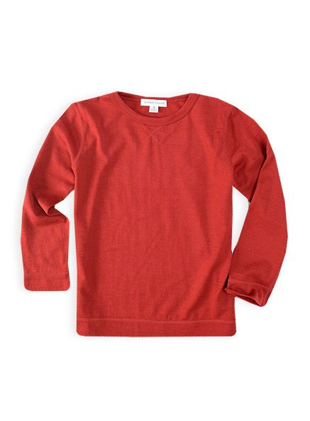 Pumpkin Patch - tops - merino marle top - W4EB11006 - fire truck - 0-3m to 12