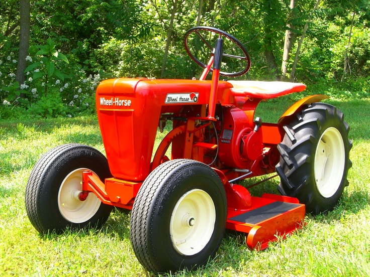 Mini Wheel Horse Tractor : Best lawn mowers images on pinterest grass cutter