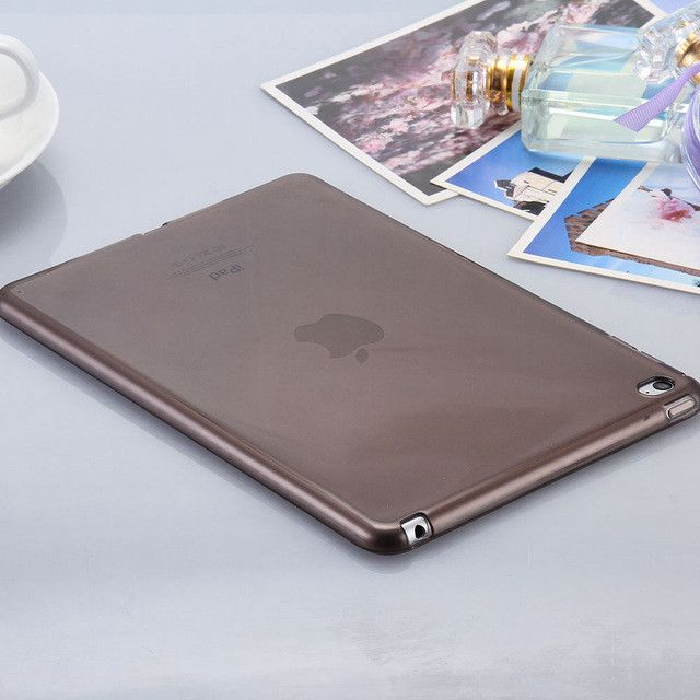 KISSCASE Clear Crystal Soft Flexible TPU Back Tablet Cover for iPad Mini 4 Case Cool Transparent Slim Protect For iPad Mini 4