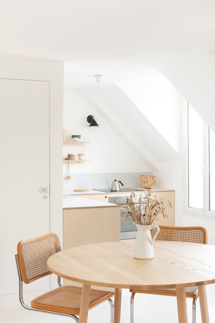 heju appartement paris cuisine scandinave minimaliste 2. Black Bedroom Furniture Sets. Home Design Ideas