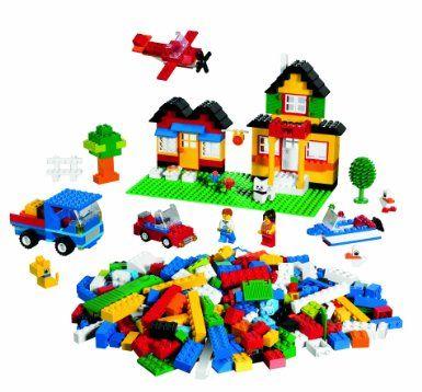 LEGO Bricks & More 5508: Deluxe Brick Box: Amazon.co.uk: Toys & Games