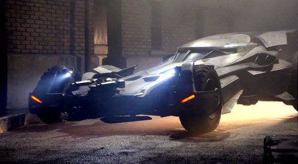 The Batman v Superman Dawn of Justice new Batmobile is Here