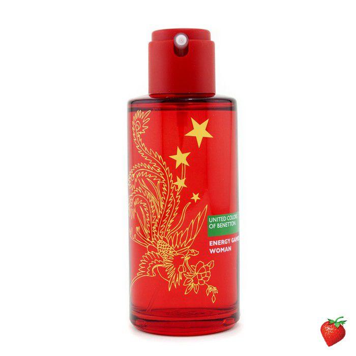 Benetton Energy Games Eau De Toilette Spray 100ml/3.3oz #Benetton #Perfume #Women #StrawberryNET
