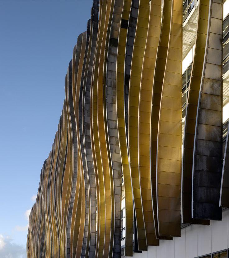 Holland Park School, London. Architect, Aedas; Structural, MEP and Facade engineering, Buro Happold.