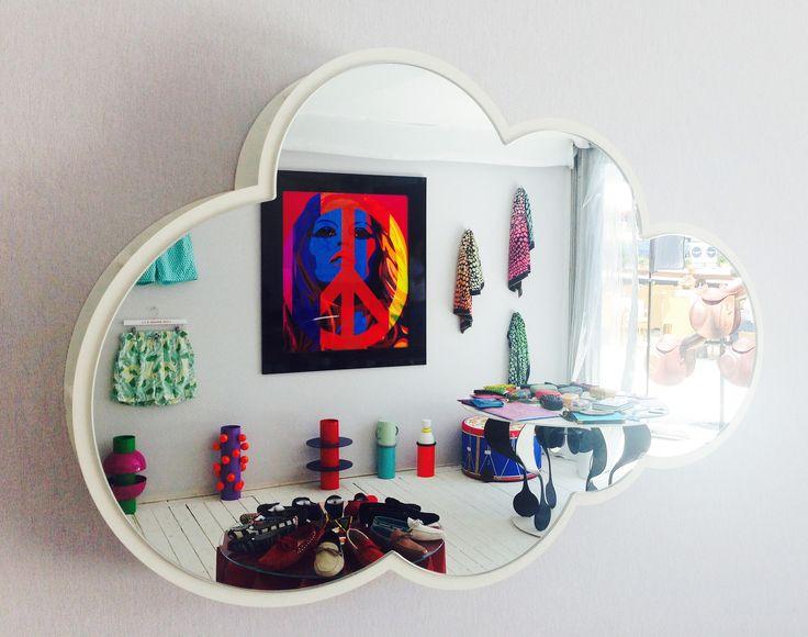 #Nuvola #mirror, design #Garilab by #PiterPerbellini for #altreforme, #Dream collection, #BoxSaintTropez, #interior #home #decor #homedecor #furniture #aluminium #woweffect #madeinItaly