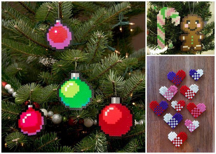 22 julhängen av pärlor!