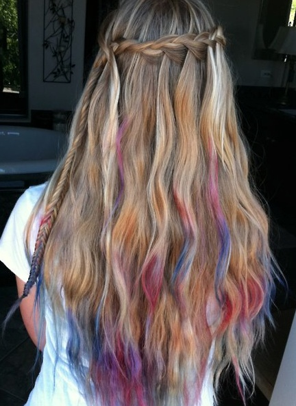 coolest hair i have ever seen evaaa.