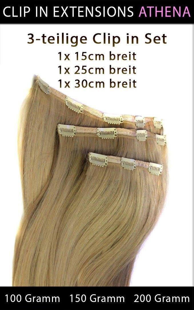 """#ECHTHAAR #CLIP_IN_EXTENSIONS """"ATHENA""""   Clip in Extensions """"ATHENA"""" besteht aus drei Haarteilen. Somit können Sie sich eine lang gewünschte Haarverlängerung gönnen und haben im handumdrehen eine Komplette Haarverlängerung mit Seitenpartien nur mit drei Volumige Haarteilen.  3-teilige Echthaar Clip in Extensions Set 1x 15cm breit 1x 25 cm breit 1x 30 cm breit"""