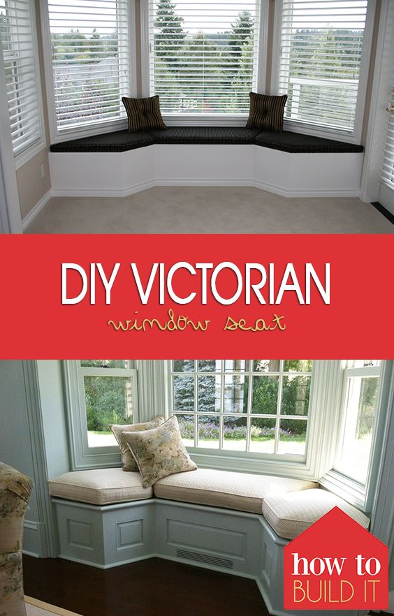 DIY Victorian Window Seat