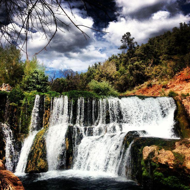 Fossil Creek Az Natural Springs Waterfall 2017