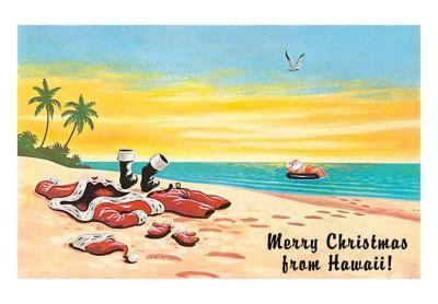 Christmas in Hawaii...on the Beach!
