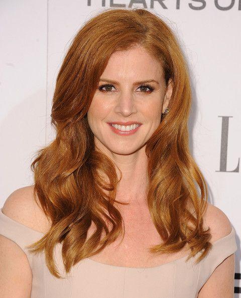 Sarah Rafferty Hair
