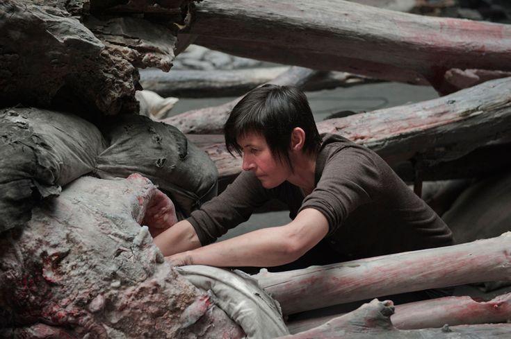 berlinde de bruyckere cripplewood at venice art biennale