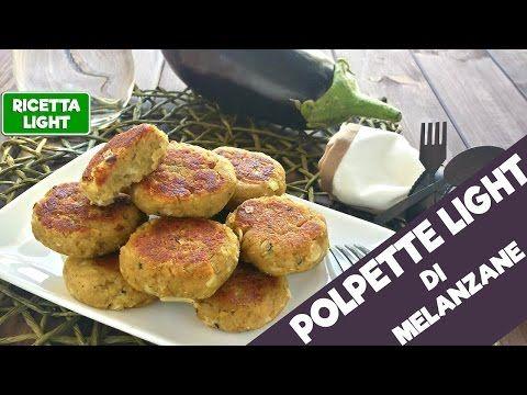 Polpette LIGHT di melanzane (solo 20 calorie l'una!) - YouTube