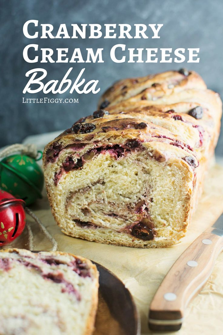 Discover the Magic of Tea and unwrap the flavor of the season with this Cranberry Cream Cheese Babka! Get the recipe @Little Figgy Food #celestialseasonings @Celestial Seasonings #themagicoftea #ad
